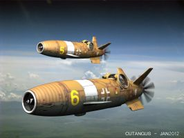 Luftwaffe flight, 1948 by CUTANGUS