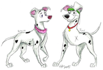 101 Dal. Series Grown-Up Pups by Stray-Sketches