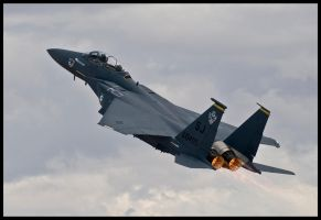 Eagle Climb II by AirshowDave