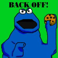 Cookie monster gets serious by BARRICADE4EVA