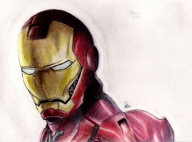 Iron Man by Skiebear