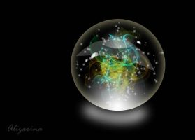 Magic ball 2 by Alizarinna