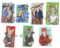 a Bunch of Badges by lizardbeth
