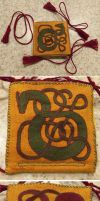 Great Wyrm Needle Book by sidneyeileen
