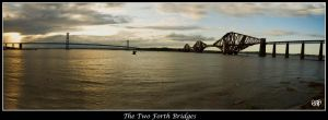 The Two Forth Bridges by SnapperRod