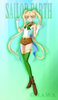 Sailor Earth - Happy Earth Day!! by HatterRose
