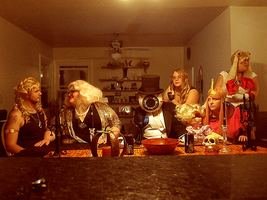 last supper by karynironsides