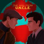 The Man from UNCLE poster by HILLYMINNE