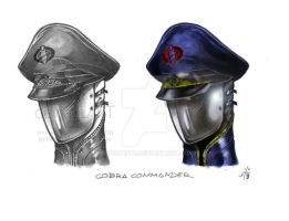 Cobra commander by Robot1979