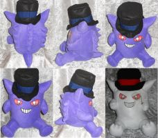 Sir.Gengar by PlushPrincess