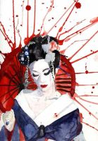 Geisha 3 by NanashiOfIce