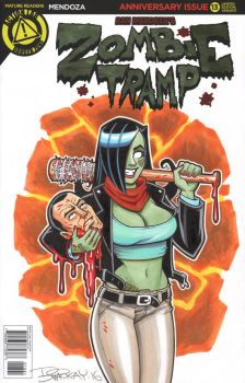 Zombie Tramp Sketch Cover 16 by BillMcKay