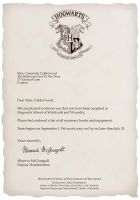 Cassie's Hogwarts Letter by shannybabe123
