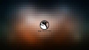 Free Software Foundation Wallpaper by LiquidSky64