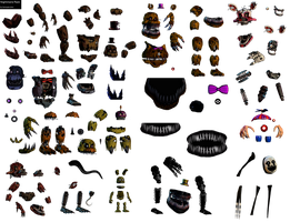 FNaF Nightmare Animatronic Resource Pack by DaHooplerzMan