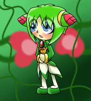 Chibi Cosmo by BlueRoseswithThorns