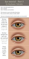 How to draw realistic EYE - Part 3/3 by StephanieVALENTIN