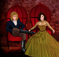 Labyrinth: The Goblin King and Queen by anakisa
