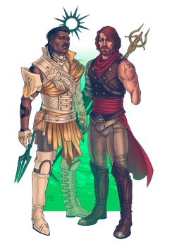Trevelyan and Dorian by Pulvis