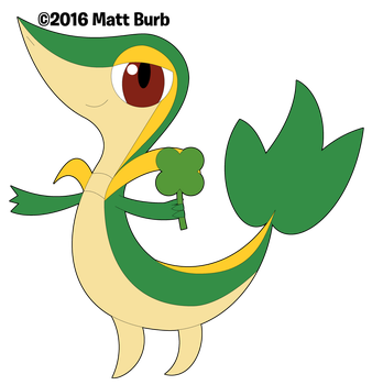 .:Happy Saint Patrick's Day from Snivy:. by TheYoshiState