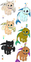 airdrop and waterdrop adopts by nevaeh-lee