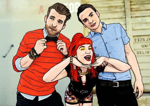 Paramore. by MttKn14