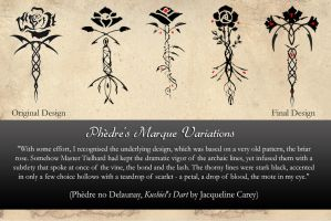 Phedre's Marque Variations by AngelaSasser