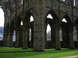 Tintern Abbey 2 - Stock by OghamMoon