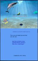 ANIMATED UNDER THE SEA TROPICS JOURNAL SKIN by Aim4Beauty