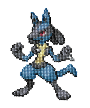 448 - Lucario by Devi-Tiger