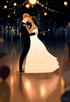 The first dance.. by PascalCampion