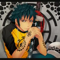 Trafalgar Law by Sammara-Eron