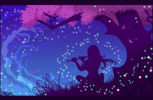 firefly serenade by Jays-Doodles
