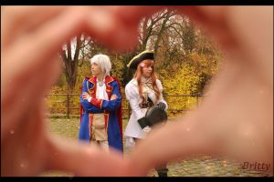 Hetalia Prussia Hungary - I don't like you at all! by Nazu-chan
