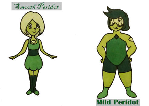 Peridot Adopts (2/2) OPEN (Paypal/Pts) 100pts by MelodyLawrenceArt