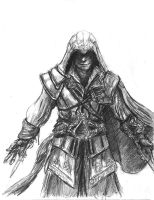 Ezio Auditore da Firenze by TheLivingShadow