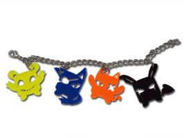 Nightmare friends Braclet by Atobe333