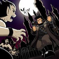 CD cover - Beefy vs. Vampires by Thormeister