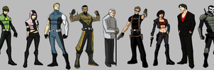 Cast of characters by JosephMichaelDavis