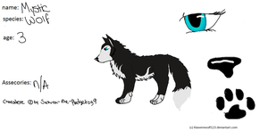 :RQ: Character REf Mystic The Wolf by Kiawerewolf123