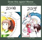 Draw this again__Spirited Away by fatgurl06