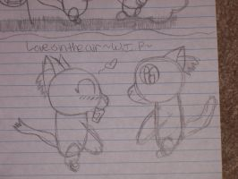 Love is in the air ~W.I.P.~ by Riverheart95