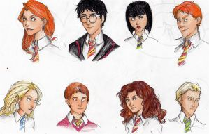 Potterheads by Mooknar