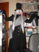 Coffin Man Cosplay 2 by UncleUndertaker