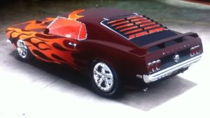 Singe's '69 Ford Mustang Concept 2 View 2 by CarlostheBat36