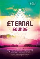 Eternal Sounds Flyer by styleWish