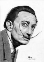 Salvador Dali by byMichaelX