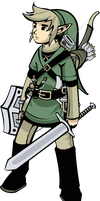 LoZ:TP Link Chibi Vector by ex-m