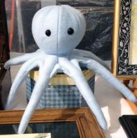 Octopus Plush by The-GoblinQueen