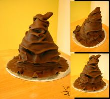 Harry Potter Sorting Hat Cake by AntVar
